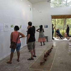 """Exposition """"CRINkLE CRANkLE GARDEN"""" Ragdale Foundation"""