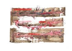 Leçon de choses : Flore intestinale - Café, feutre et gouache sur papier - 42x30cm - 2021