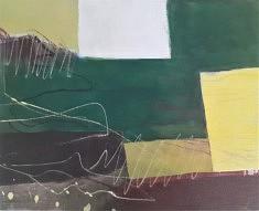 2021. Peindre, peinture/toile, 40x50cm