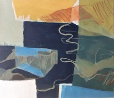 2021. Peindre 17, peinture/toile, 40x50cm