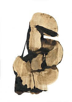 Vénus hottentote - Café sur papier - 30x42cm - 2021