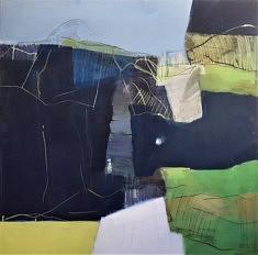 2021. Peindre(a), peinture/médium, 100x100 cm, 2021