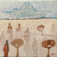(Français) Babacar Keeme Taane (Peinture)