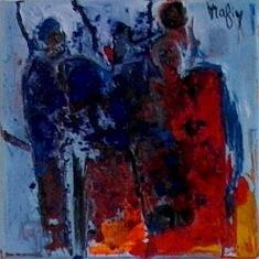 (Français) Rafiy Okefolahan (peinture)