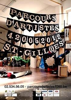 Echange avec Parcours d'Artistes (Belgique)