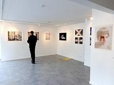 Vue de l'exposition à la galerie des AAB