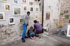 Vue de l'atelier d'Olivier Geffard