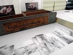 œuvres de Madeleine Froment (photo Loïs Pommier)