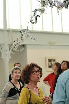 L'installation de Claire Achenault, photo Katelia