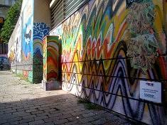 Fresque rue Tourtille (Photo Isabela Muller)