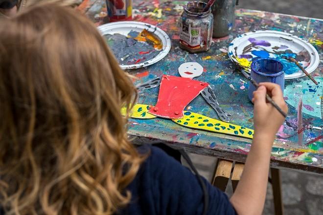 Jeux de peinture, Artame Gallery, photo Dagmara Bojenko