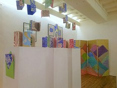 Exposition Encontro : œuvres de Paola Afonso (photo História e Arte)