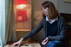 Dans l'atelier de Catherine Olivier (photo Noémie Brancard)