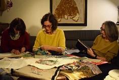 Dans l'atelier des  Brodeurs Associés (photo Noémie Brancard)