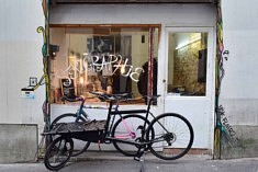 L'atelier de Brian Cougar (photo Noémie Brancard)