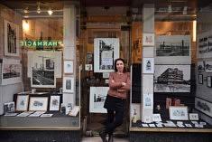 Dans l'atelier de Caroline Bouyer (photo Noémie Brancard)