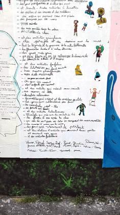 Inventaire à la Prévert - 2 (photo Loïs Pommier)