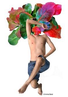 Annie BArel, la Comtesse aime le Jardinage, photo 18 x 24 cm