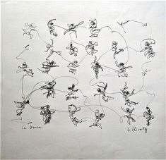 Luc Etivant, La danse