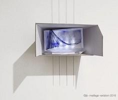 Joëlle Bondil, Maillage  variation, 40x26x53 cm