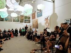 Concert d'Aldona à l'atelier Ephémère (photo Loïs Pommier)
