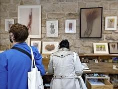 L'atelier de Catherine Rauscher (photo Loïs Pommier)