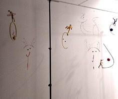Exposition #2, mobiles d'Elli Drouilleau