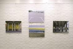Exposition #2, détail de l'accrochage de Jean-Christophe Adenis