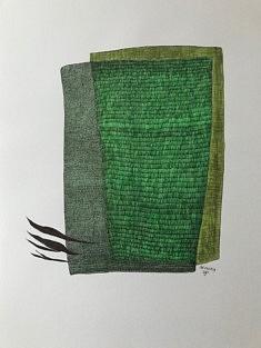 JP Tarquiny, Sans Titre, dessin stylo et feutre sur papier, 42x59,4 cm, 2019