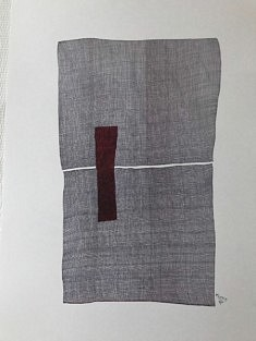 JP Tarquiny, Sans Titre, dessin stylo et feutre sur papier, 42 x 59,4 cm, 2019