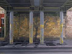 Jean-Christophe Adenis, Propylees, acrylique, 80 x 60 cm