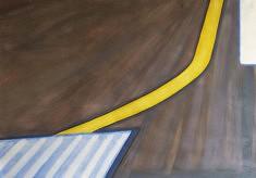 Olivier Furter, Leaving SF IX, gouache sur papier, 100 x 70 cm, 2020