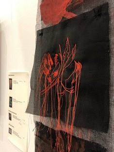Exposition #8, œuvre de Stéphanie Olivar (photo Stéphanie Olivar)