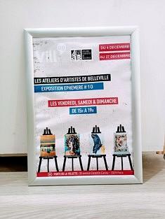 Affiche de la dernière exposition