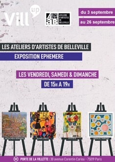 L'Exposition Éphémère, Vill'Up En Arts, septembre 2021