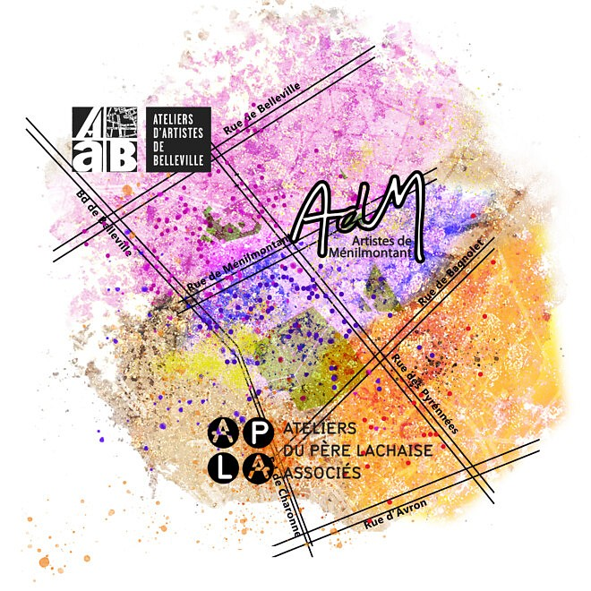 Visuel expo Territoires d'Artistes, octobre 2021