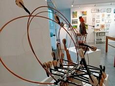 Sculptures d'Elisabeth Lerolle  (photo Loïs Pommier)