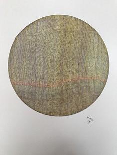 Jean-Philippe Tarquiny, dessin, Par 13.12.20, 2020, encre sur papier, 42 x 594 cm