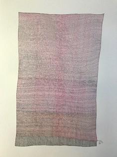 Jean-Philippe Tarquiny, dessin, Par 16.11.20, 2020, encre sur papier, 42 x 594 cm