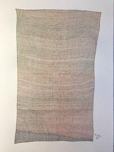 Jean-Philippe Tarquiny, dessin, Par 18.11.20, 2020, encre sur papier, 42 x 594 cm