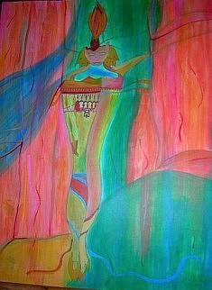 Réjane Cousin, Le rêve ordinaire, 26 XI 1990, 65 x 50 cm