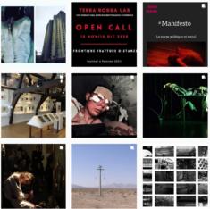 Instagram de l'association d'artistes Terra Rossa Lab
