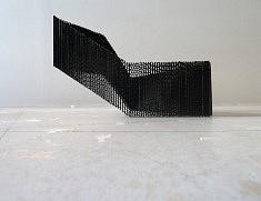 Federica Nadalutti, Casa aperta, 2017, carton, encre, 45x28x15cm