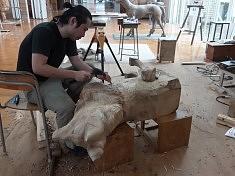 Toshiya Kimura au travail, photo : Beatriz Trepat