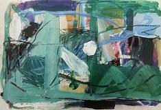 Pascale Cléa, Sans titre, 2017, 14x21 cm, pastel et acrylique sur papier