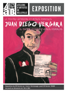Juan Diego Vergara, flyer Exposition 2020, recto
