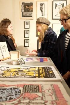 A l'association pour l'estampe et l'art populaire, photo Plinio Ribeiro Jr.