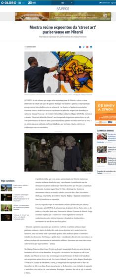 2016, O Globo