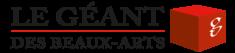 Logo Le Géant des Beaux-Arts