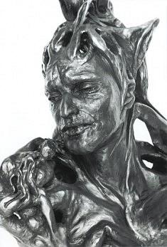 Coryphée d'un monde désenchanté, 2003, H : 58 cm